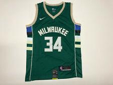 YSPORT Short Basket Milwaukee Bucks # 34 Antetokounmpo Ventilateurs Maille Brod/ée Respirant Short 2XS-5XL Color : Green, Size : 2XS