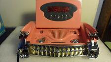 """RARE 1959 PINK CADILLAC REAR AM/FM RADIO & DIGITAL CLOCK& ALARM AC PWR  9"""""""