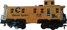 Ho Scale Chessie Caboose Bachmann Cargo Freight Model Train Toy Display Model