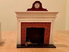 vintage dollhouse furniture fireplace