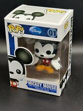 Funko Pop Disney #01: Mickey Mouse Vinyl Figurine *Free Protector*