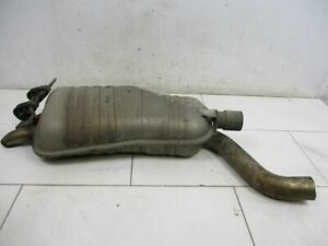Silencer Rear End Silencer Muffler BMW X3 (E83) 3.0D 7787612