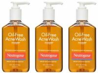 Neutrogena Oil-Free Acne Wash 6 oz - YOUR CHOICE !!!!!!!