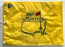 2007 Masters golf flag augusta national zach johnson wins pga new