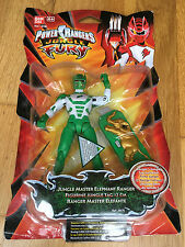 Power Rangers Jungle Fury master elephant ranger 12cm New sealed USA import