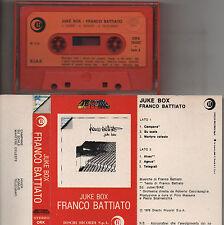 FRANCO BATTIATO musicassetta mc STAMPA ITALIANA Juke Box MADE IN ITALY Orizzonte