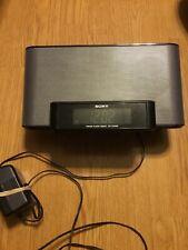 Sony Dream Machine ICF-CS10iP FM/AM Alarm Clock Radio iPod iPhone Dock Working