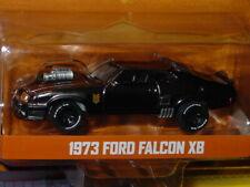 GREENLIGHT 1973 FORD FALCON XB MAD MAX V8 INTERCEPTOR LIMITED BLACK CHROME -MIP