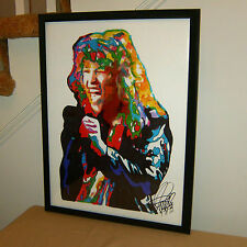 Jon Bon Jovi Wanted Dead or Alive Runaway Hard Rock Poster Print Wall Art 18x24