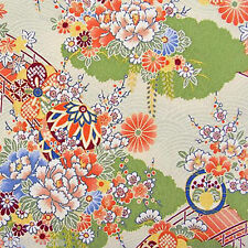 Japanese Floral Square 16 x 16 Needlepoint Canvas mono deluxe