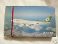 EVA AIR B747-400 airlines playing cards