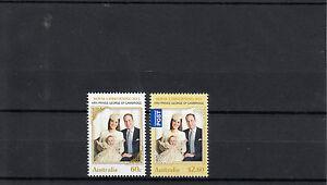 Australia 2014 MNH Royal Christening Baby HRH Prince George 2v Set William Kate