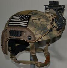 Ballistic IIIA SOHAH Gunfighter Kevlar helmet Wilcox CVC Gentex Ops Core Large