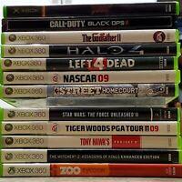 PS2, PS3, Xbox and Xbox 360 Games (Read Description)