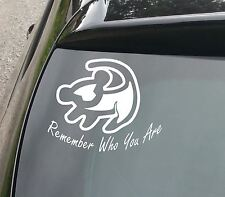 Roi lion voiture/fenêtre jdm vw euro dub vinyl decal sticker