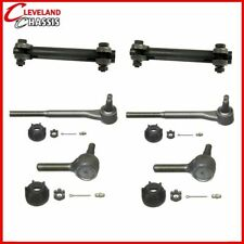 4 Front Tie Rod Ends & 2 Sleeves Chevy Bel Air One-Fifty Two-Ten
