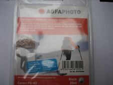AGFA Photo  PG-40BK Inhalt:26ml XXL-Tinte PixmaMP450 ip1300 ip2600 ip1800 2500