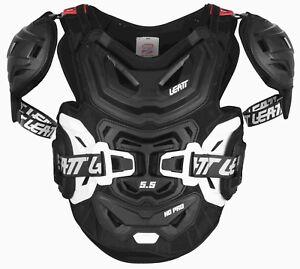 Leatt Chest Protector 5.5 Pro HD BMX MX Moto ATV Support Black Adult One Size