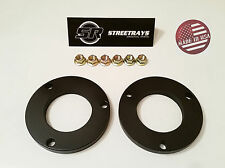 "[SR] 1"" Front Leveling Spacer Lift Kit FOR 05-18 Tacoma & FJ Cruiser 4WD 2WD BLK"