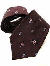 Cravatte da uomo rossi 100% Seta