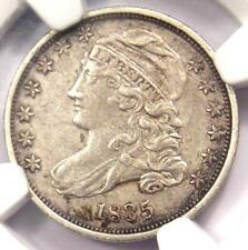 1835 Capped Bust Dime 10C - NGC AU Details - Rare Early Date - Certified Coin!