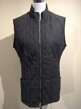 BARBOUR Shaped Matelassé women's jacket gilet UK 14 US 10 EUR 40 FR 42 (pv:125€)