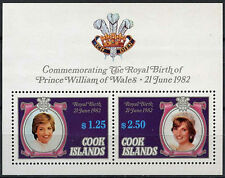 Cook Islands 1982 Royal Baby Birth MNH M/S #A90404