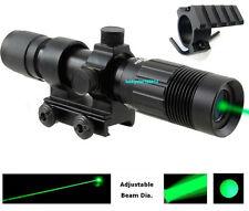 Adjustable Green Laser Sight Designator/ Illuminator/Flashlight W Weaver Mount