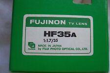 Fujinon HF35A 1:1.7/35 TV Lens serial no.264684