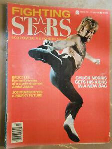 Fighting Arts Magazine April '76. Ali, Bruce Lee Norris Elvis Joe Frazier Karate