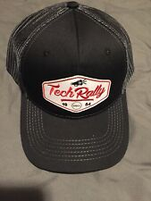 DELL TECH RALLY black / white / red adjustable cap / hat