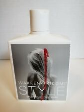New! Victoria's Secret Warren Tricomi Smoothing Conditioner 9.25 Oz. Free Ship!