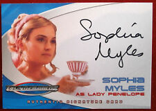 "Thunderbirds The Movie - SOPHIA MYLES, as ""Lady Penelope"" - Autograph Card AC3"