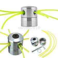 Débrousailleuse Tondeuse à Gazon Aluminium Bobbine Ligne Corde Tête Double 2.4mm