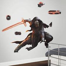 Riesiger Wandsticker XXL Star Wars Kylo Ren Laserschwert nachtleuchtend