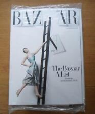 Harpers Bazaar magazine February 2013 unopened, unread Anne Hathaway on cover