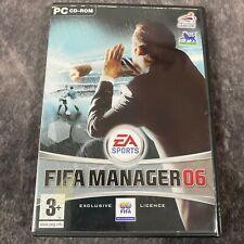 FIFA Manager 06 PC Spiel Komplett CD-Rom EA Sports Football Management SIM