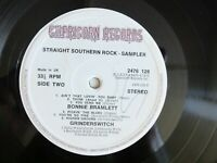 VARIOUS STRAIGHT SOUTHERN ROCK 2476 128 UK EXCELLENT VINYL RECORD LP