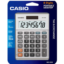 Casio MS-80B Standard Function Desktop Calculator, ColorGrey Free Shipping US