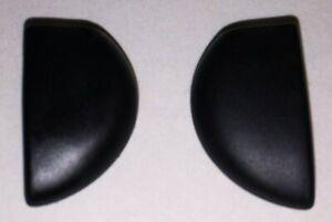 1151 - MAUI JIM 412 Black Nose Pads ONLY