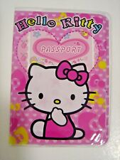 Childrens Kids Boys Girls Passport Cover Holder Protector Gifts For Hello Kitty