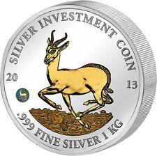 Internationale Tier & Natur Spiegelglanz Münzen aus Silber