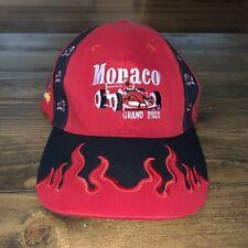 VTG Monaco Grand Prix Monte Carlo Formula 1 Racing Strapback Hat Adjustable
