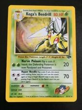Pokemon Cards TCG - Koga's Beedrill - Holo - Gym Challenge - NM(-)/LP - A