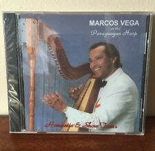 Romantic and Show Tunes Marcos Vega CD. Brand New Sealed!