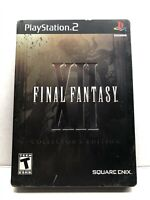 Final Fantasy XII: Collector's Edition (PlayStation 2, 2006) Complete w/ Manual