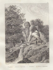 Firenze, Pratolino 1834-1837 bulino