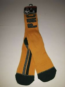 Green Bay Packers NFL OTC Socks 47 Brand  Large size 9-13