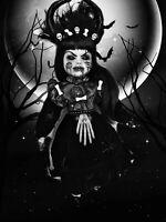 OOAK Horror Gothic Creepy Dark Ominous{Judith}Connie's Creepy Corner