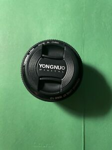 YONGNUO EF 35mm F/2 Wide-angle Fixed Auto Focus Lens